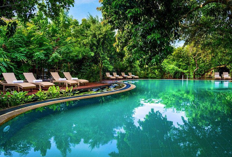 Uga Jungle Beach Poolside